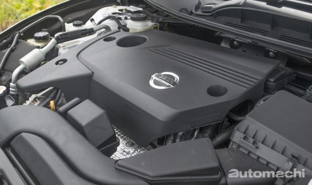 Nissan Teana 2.5,优质日系房车