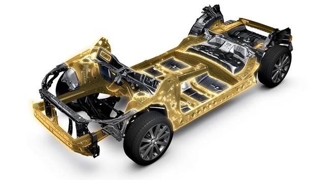 Subaru Impreza 2017将基于Subaru全新平台SGP打造!
