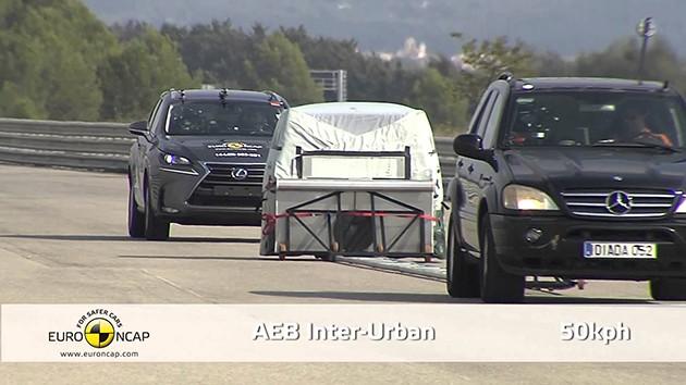 Toyota和Lexus将在2017年在北美把AEB列为标准配备!