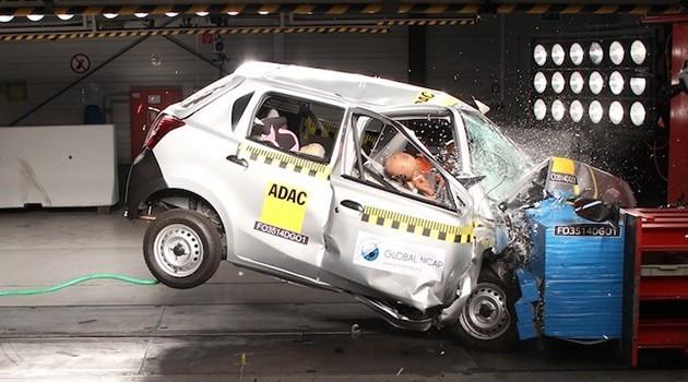 目前全球有20%的新车没有达到联合国的汽车安全最低标准!