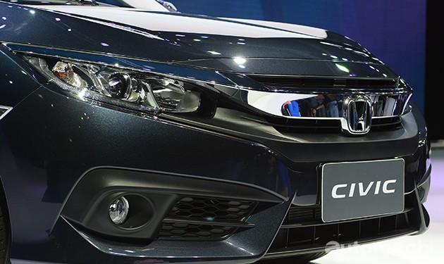 2016曼谷车展现场直击:Honda Civic X 1.8与1.5 Turbo同时现身!