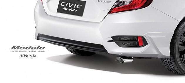就是要Modulo才帅!泰国发布Honda Civic FC Modulo空力套件!