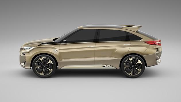 Honda土豪金SUV将命名UR-V?