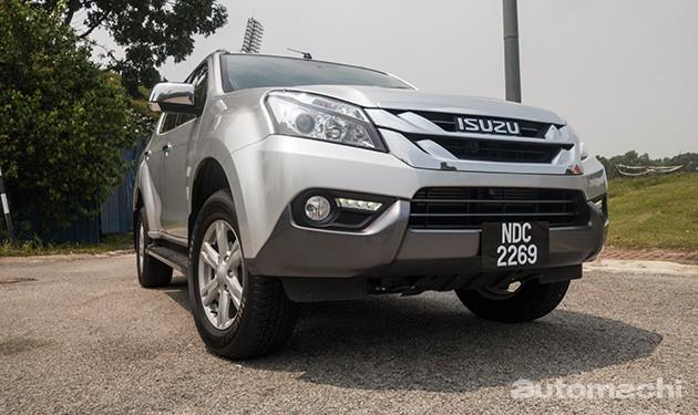 泰国版Isuzu MU-X推出全新1.9L柴油引擎版本!