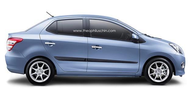 Perodua Axia Sedan将在今年7月至8月面世!