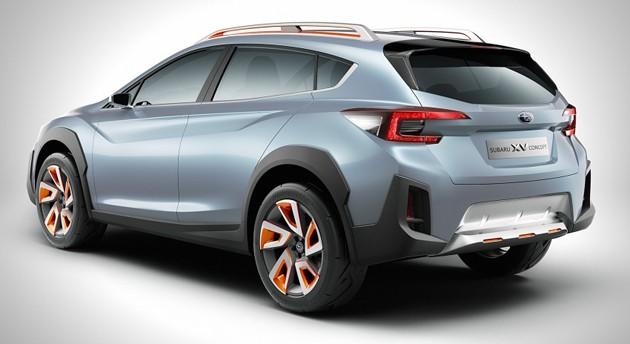 2016日内瓦车展:Subaru展出XV Concept,下一代XV的雏形?
