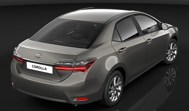 Toyota Corolla Altis小改款现身!