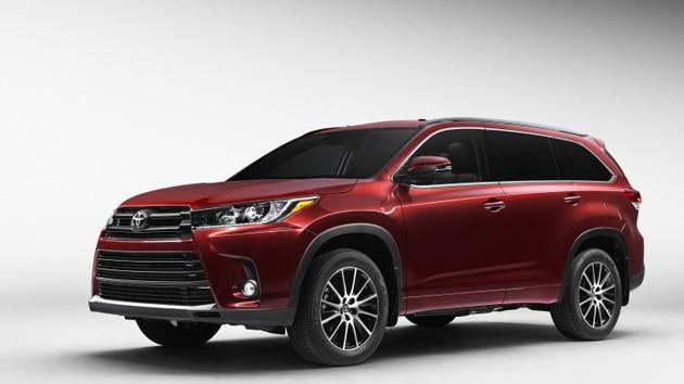 Toyota Highlander小改款发布!新引擎+8速自排入列!