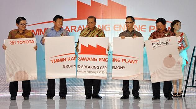 Toyota印尼Karawang引擎生产线启动!年产量高达20万具!