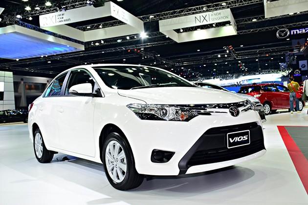 Toyota Vios小改款亮相曼谷车展!
