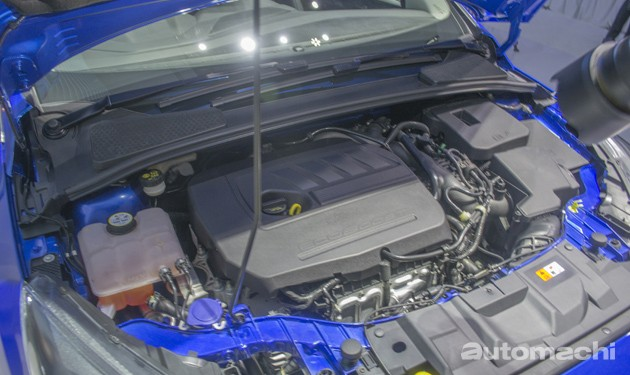 Ford正式推介Focus小改款,Ecoboost 1.5引擎入列!