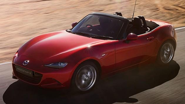 Mazda MX-5一举拿下世界年度风云大奖和世界年度风云设计!