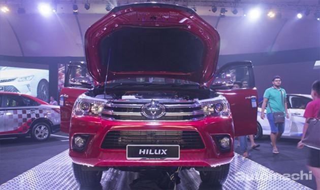 Toyota HIlux 2.8G正式现身!