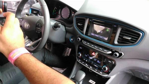 最美Hybrid车Hyundai Ioniq出现在我国!