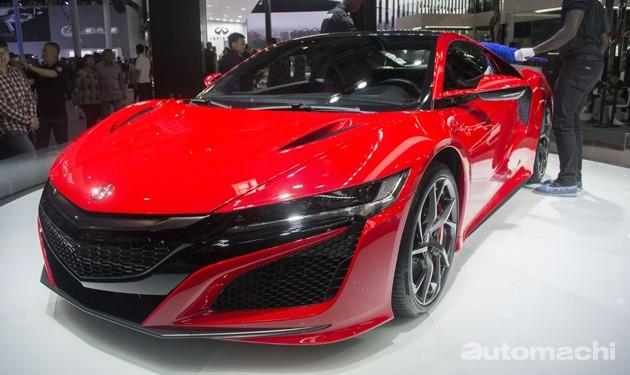 2016北京车展直击:Acura NSX,东瀛法拉利现身!