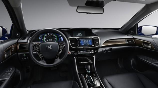 Honda Accord Hybrid美国市场发表!同级最佳油耗表现!