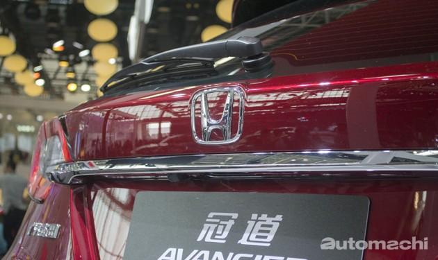 2016北京车展现场直击:全新旗舰SUV!Honda Avancier正式登场!
