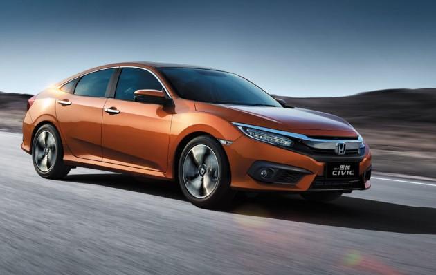 0-100 7.09秒!Honda正式发布中国版Honda Civic FC!