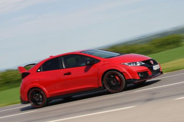 传说中的FC2R?10代Honda Civic Type R现身!
