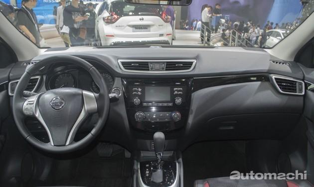 2012北京车展直击:Nissan Qashqai携1.2L涡轮引擎登场!
