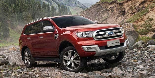 Ford Everest即将登陆我国市场!规格曝光!