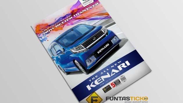 Perodua Kenari官方宣传册现身?