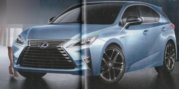 下一代Lexus CT将会变成小型Crossover!