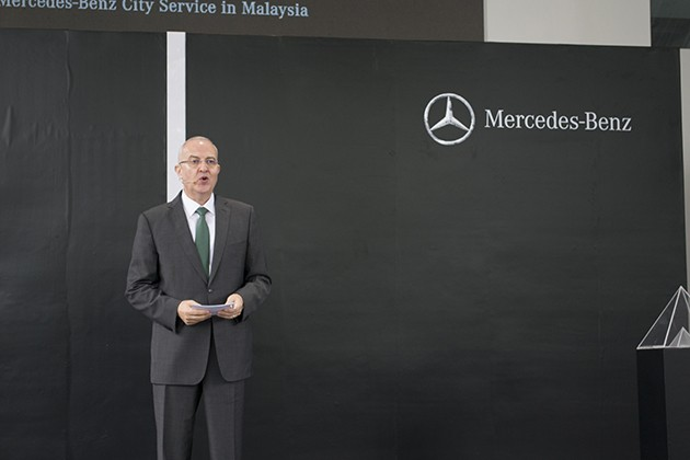 Mercedes-Benz Malaysia 推介马来西亚首个Mercedes-Benz City Service
