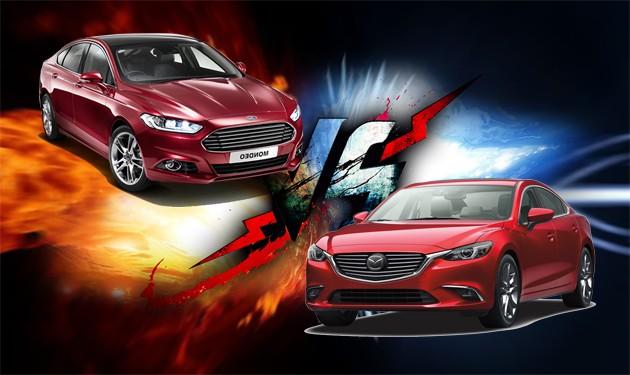 曾经同门的对决!Mazda6 2.5 Skyactiv对比Ford Mondeo 2.0 Ecoboost!