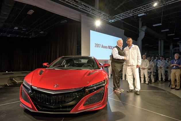 全球首部Acura NSX正式交车!车主花了120万美金!