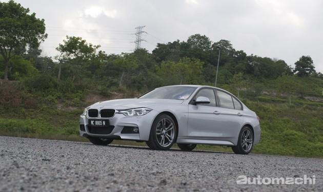 BMW 330i M Sport,不许多着墨的超强轿跑!