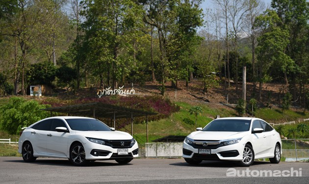 海外试驾!Honda Civic FC 1.8L和1.5L Turbo!