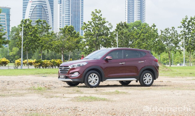 流体雕塑再进化!Hyundai Tucson 2.0 Executive!