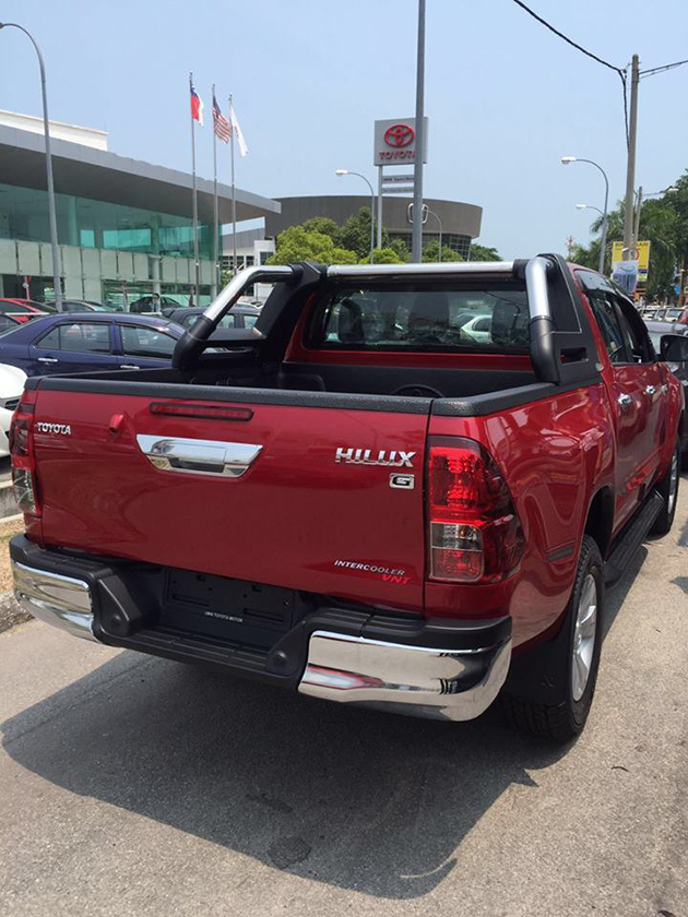 发布在即!Toyota Hilux 2016 2.4G版本现真身!