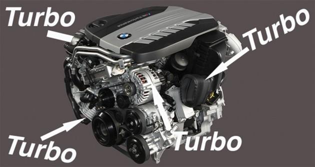 BMW发布4增压柴油引擎,最大输出达到400hp/760Nm!