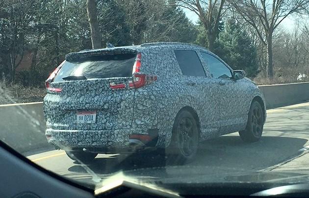 全新世代Honda CR-V假想图曝光!