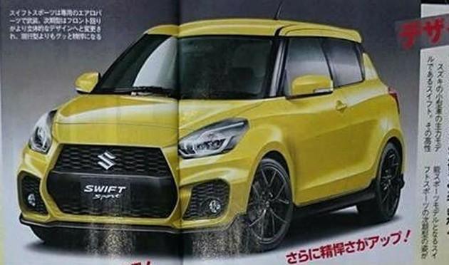 追求极致轻量化!下一代Suzuki Swift车重可能只有800kg左右!
