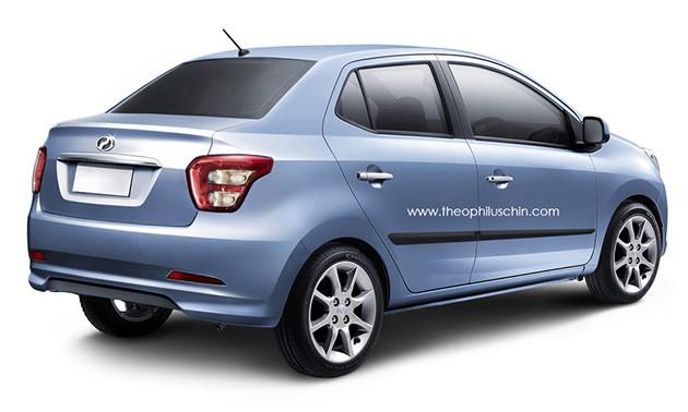 Perodua Axia Sedan将在开斋节之前面世!将专注1.3L版本!