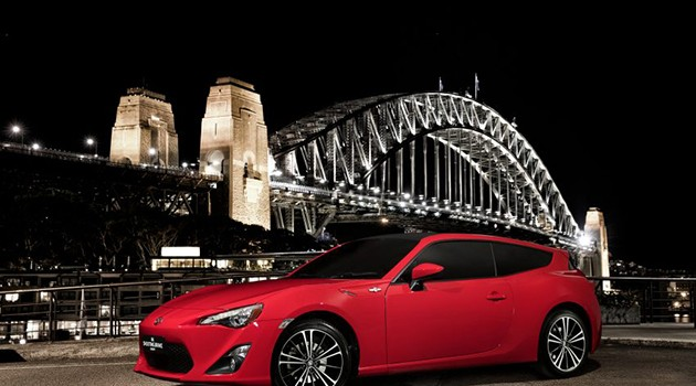 Toyota 86 Shooting Brake concept现身澳洲悉尼!