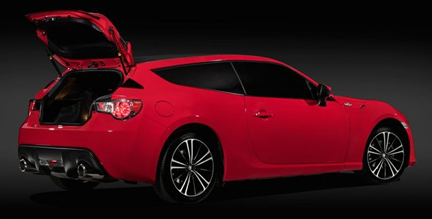 Toyota 86 Shooting Brake concept现身澳洲悉尼!