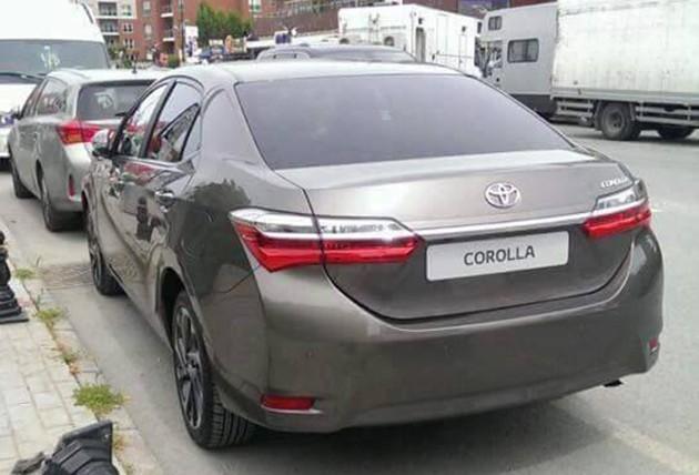Toyota Corolla Altis小改款于土耳其现身!