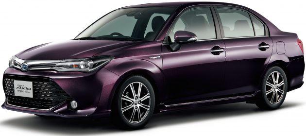 向北美市场看齐,Toyota Corolla Axio 50周年限量版日本开售!