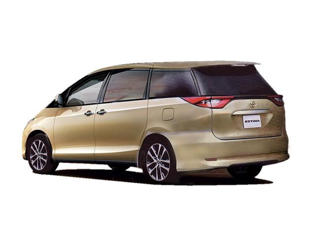 外形内装皆改变!Toyota Estima 2016现身!