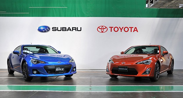 Toyota将和Subaru继续加强合作关系!