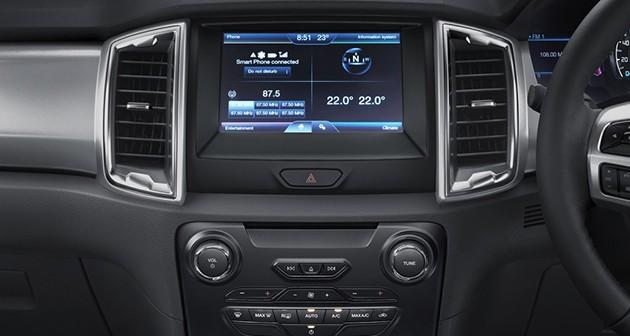 即日起购买Ford Ranger XLT车型即可获得延长保固期及倒车摄像头!