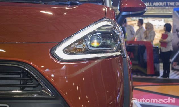 Toyota Sienta现身大马!规格确定!