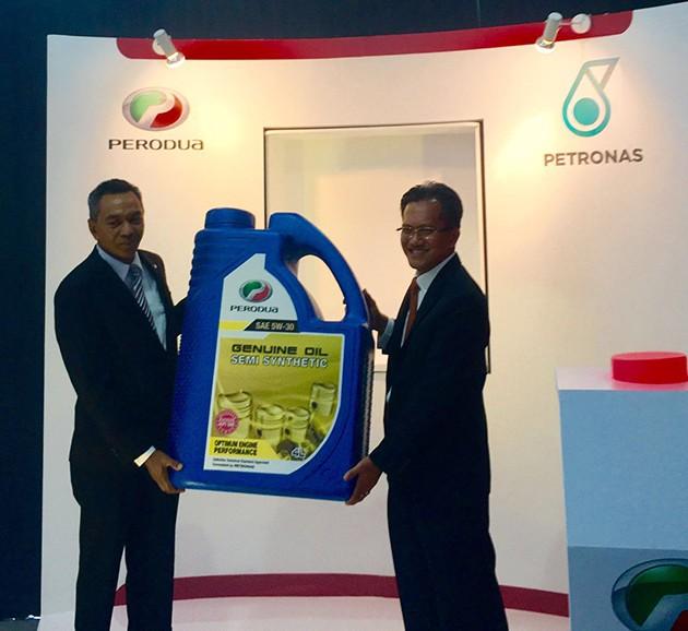 Perodua和Petronas继续合作关系!
