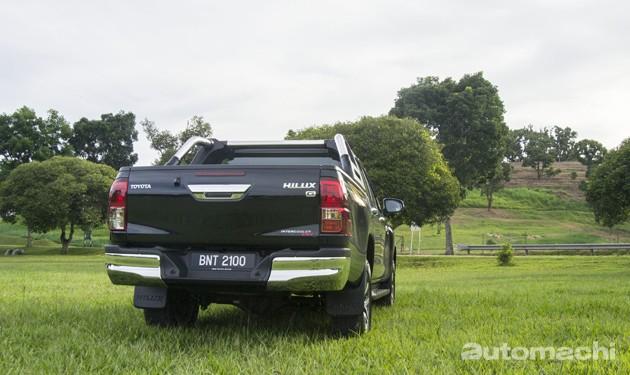 前有强敌后有追兵?Toyota Hilux 2.8G深度试驾!