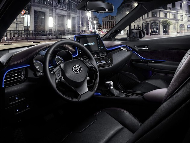 Toyota C-HR内装终于揭露!