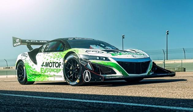 千匹马力!Acura NSX电动赛车版将出征美国派克峰!